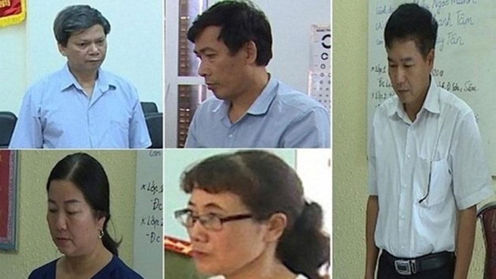 Gần 100 người, có liên quan, tham gia vụ xét xử, gian lận điểm thi ở Sơn La