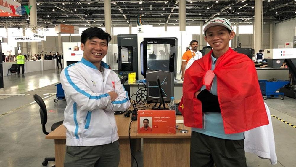 Kỳ thi Tay nghề thế giới 2019, thí sinh Việt Nam, giành Huy chương Bạc, Trương Thế Diệu, Viện Đào tạo Kỹ năng nghề DENSO