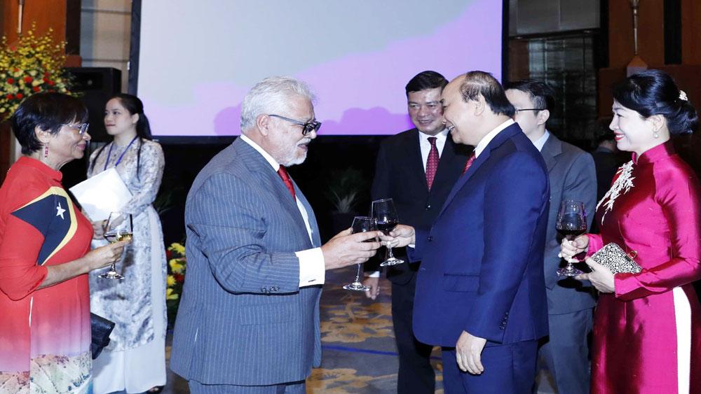 Thủ tướng Nguyễn Xuân Phúc, Phu nhân, chủ trì chiêu đãi, nhân dịp kỷ niệm Quốc khánh 2-9
