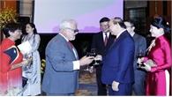 Thủ tướng Nguyễn Xuân Phúc và phu nhân chủ trì chiêu đãi nhân dịp kỷ niệm Quốc khánh 2-9