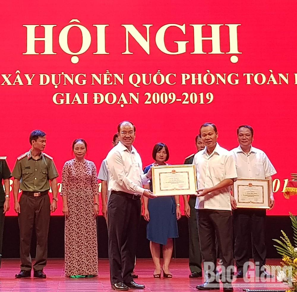 Quốc phòng toàn dân, TP Bắc Giang, tỉnh Bắc Giang