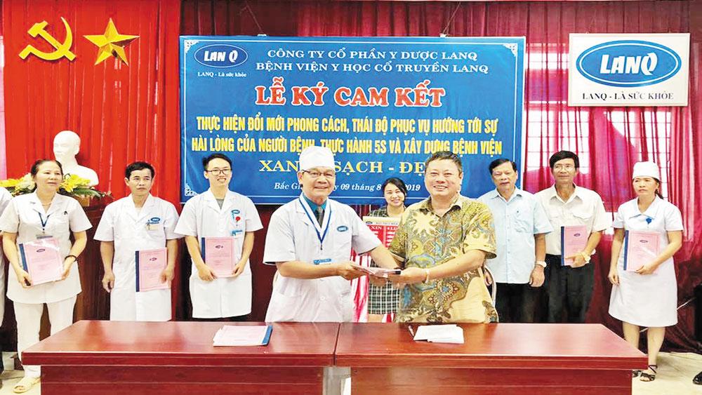 Bệnh viện LanQ, Y học cổ truyền, Bắc Giang