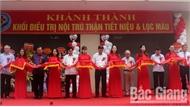 Bệnh viện Đa khoa tỉnh Bắc Giang khánh thành khối nhà điều trị nội trú Thận - Tiết niệu - Lọc máu