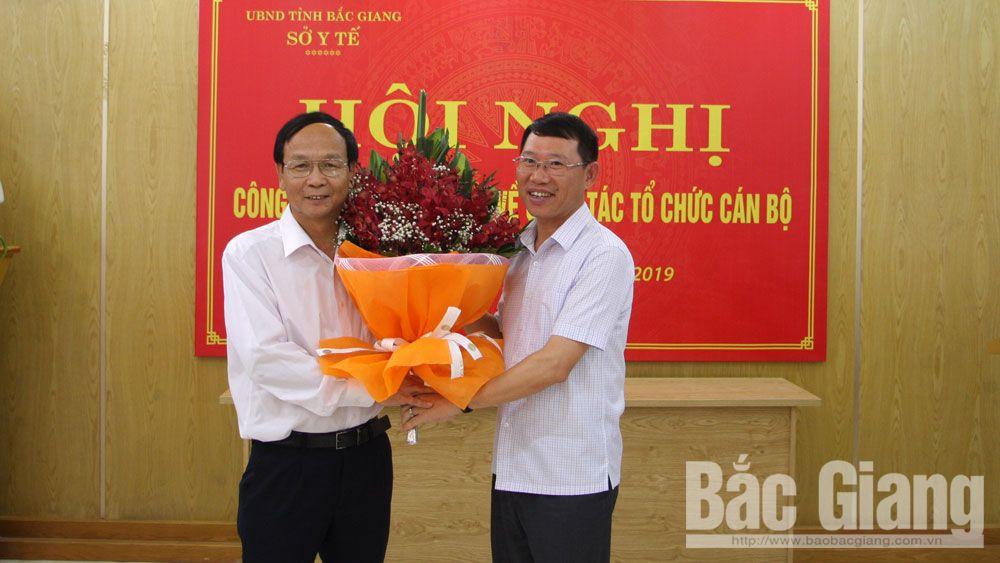 Sở y tế Bắc Giang, Nhân sự mới, bổ nhiệm phó giám đốc Sở y tế Bắc Giang