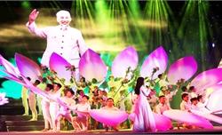 Chương trình nghệ thuật 'Việt Nam – Ngàn gấm hoa' mừng Quốc khánh 2-9