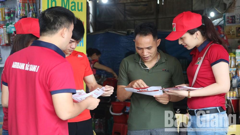 đoàn viên thanh niên, xuống đường tuyên truyền, Nói không với rác thải nhựa, Agribank Chi nhánh Bắc Giang II, Bắc Giang