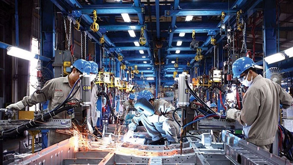 Vietnam, industrial production index, January-August, Job numbers, computers and optical products,  industrial enterprises