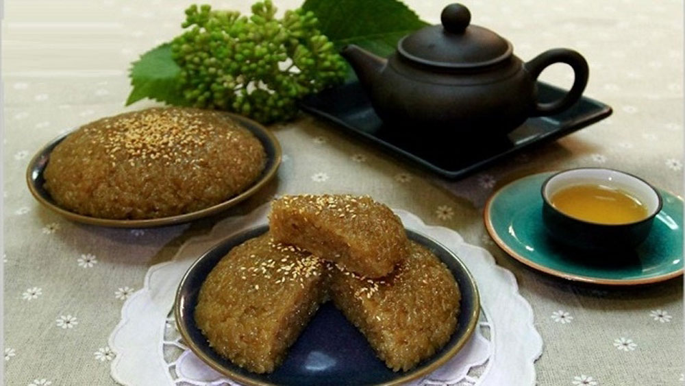 Che con ong, heart-warming Vietnamese specialty, Vietnamese cuisine,  honeycomb-shaped pudding, peppery flavour