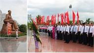 Đoàn đại biểu tỉnh Bắc Giang dâng hương tại Khu lưu niệm 6 điều Bác Hồ dạy CAND