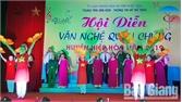 Gần 500 diễn viên tham gia hội diễn văn nghệ quần chúng