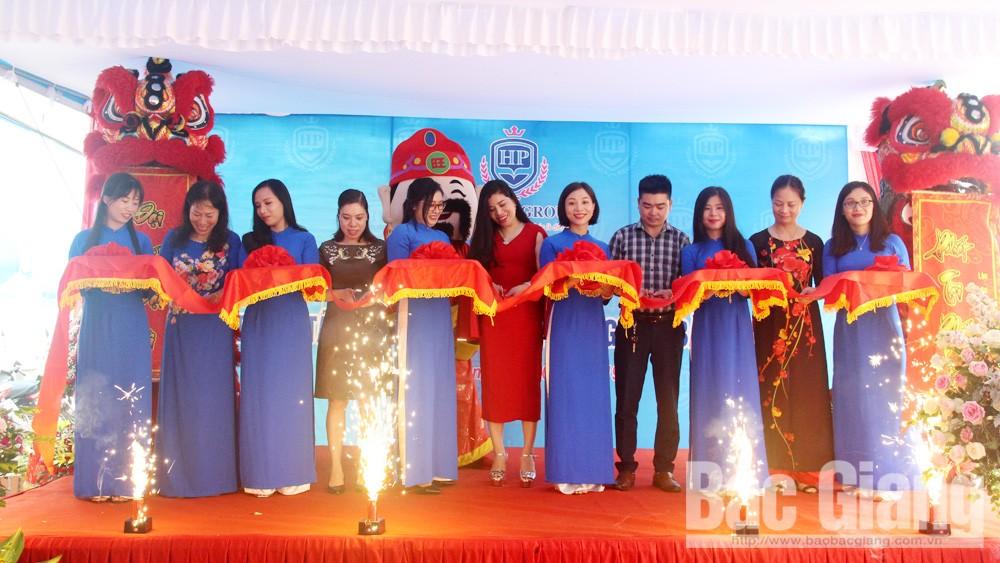 Công ty cổ phần HP Global Group, khai trương, chi nhánh tại Bắc Giang, giáo dục, tiếng Anh