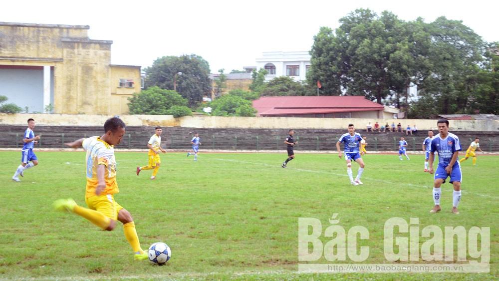 Bắc Giang, giải bóng đá, cúp Truyền hình, lần thứ 14, tỉnh Bắc Giang