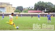 8 đội bóng dự giải vô địch bóng đá nam tỉnh Bắc Giang - Cúp Truyền hình năm 2019