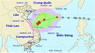 Từ trưa và chiều 2-9, vùng biển Quảng Trị-Bình Định có gió giật cấp 10