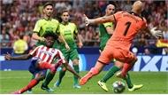 Atletico Madrid giữ mạch toàn thắng ở La Liga
