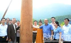 Lễ thượng trụ tòa Thượng điện chùa Hạ Tây Yên Tử