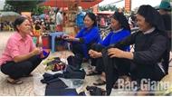 Đồng bào các dân tộc thiểu số huyện Lục Ngạn mừng Quốc khánh