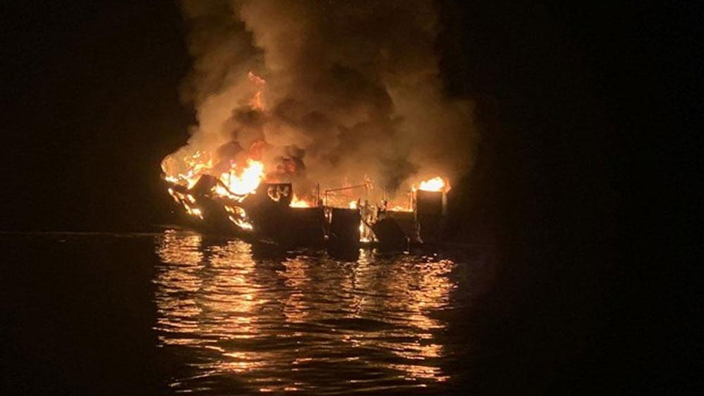 Cháy tàu lặn ở Mỹ, thiệt mạng, mất tích,  Conception