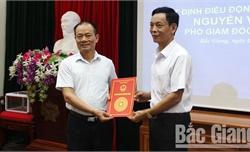 Ông Nguyễn Văn Nghĩa giữ chức Phó Giám đốc Sở Xây dựng Bắc Giang