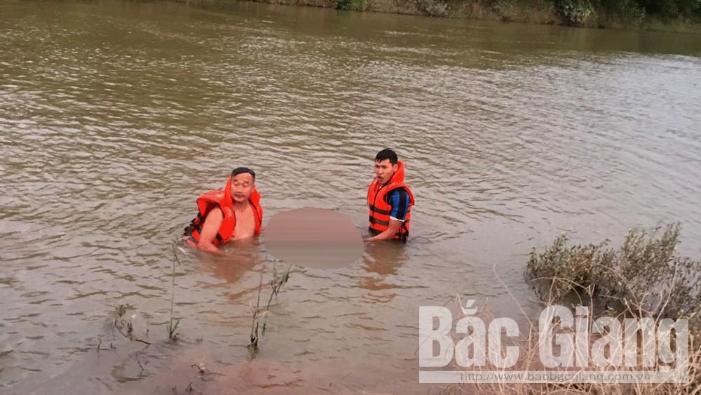 đuối nước, Lục Ngạn, Bắc Giang, câu cá, tử vong