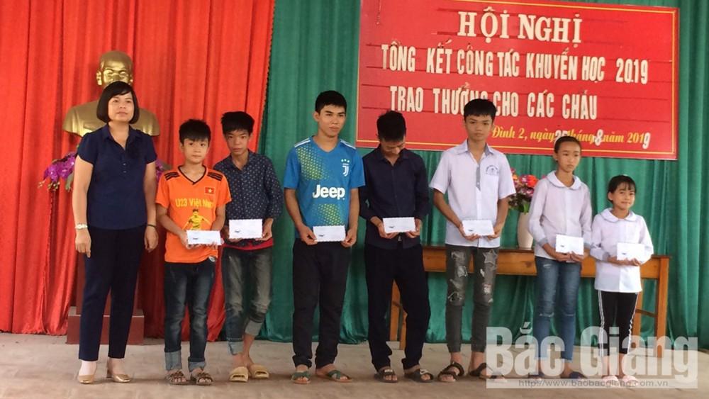 lục nam, tặng quà, học sinh nghèo, năm học mới