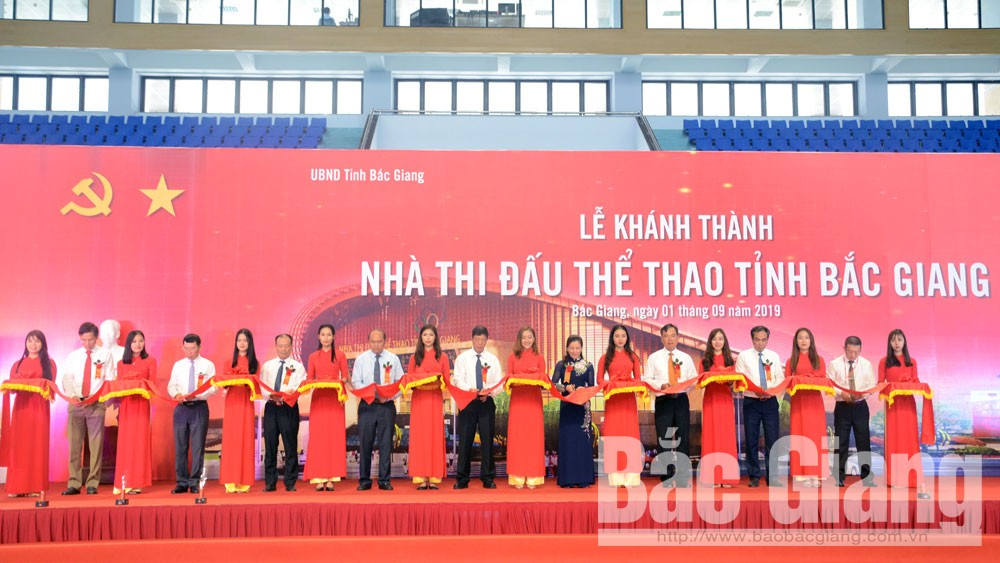 Bac Giang Sports Venue opens