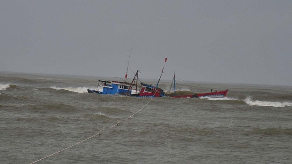 Cứu vớt, 41 ngư dân, ba người, mất tích trên biển, tàu QNa 91928 TS ,  Bùi Văn Quốc