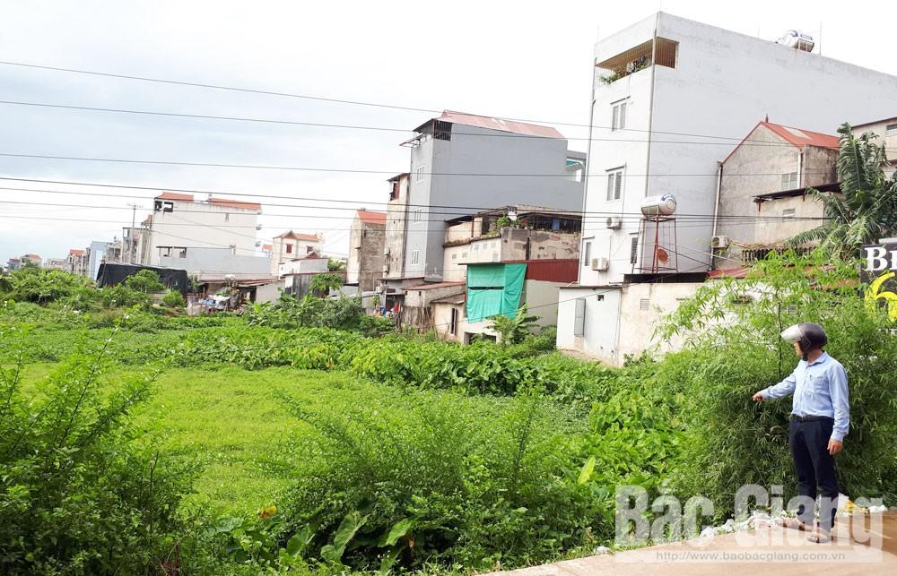 thị trấn Đồi Ngô, Lục Nam, Bắc Giang, Công dân, đấu giá,  12 năm, nhận đất