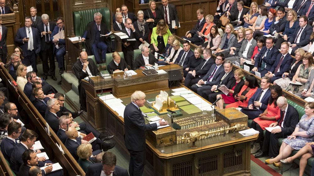 Vấn đề Brexit, Chính phủ Anh, thất bại, cuộc bỏ phiếu tại Hạ viện