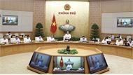 Chính phủ họp phiên thường kỳ tháng 8