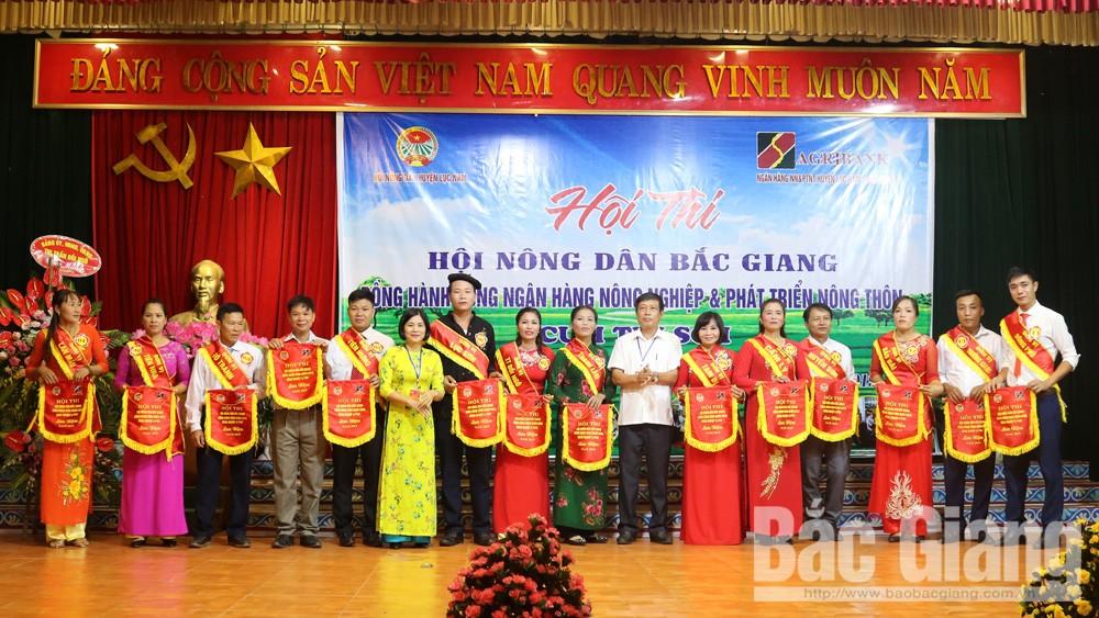 Hội thi Hội Nông dân Lục Nam đồng hành cùng Ngân hàng Nông nghiệp và PTNT