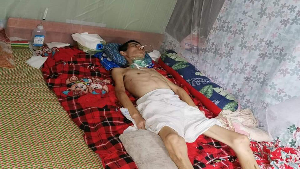Poor man, proper treatment, Duong Hoang Tra, Bac Giang province, traumatic brain injury, kind-hearted people
