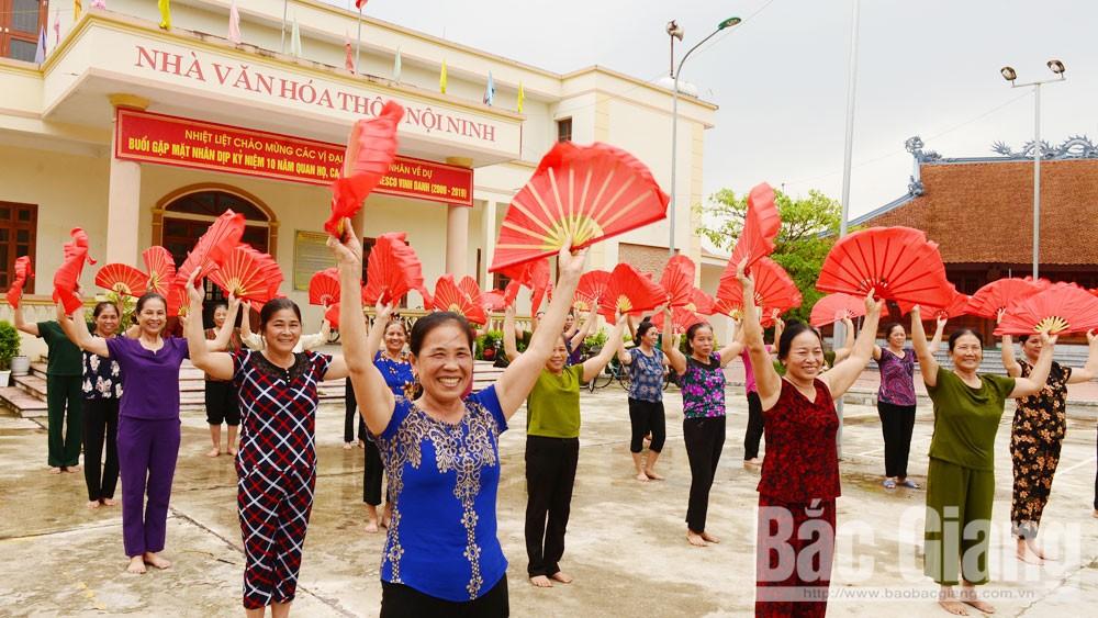Bắc Giang, nông thôn mới, đời sống mới, miền quê đáng sống, trù phú, giàu đẹp
