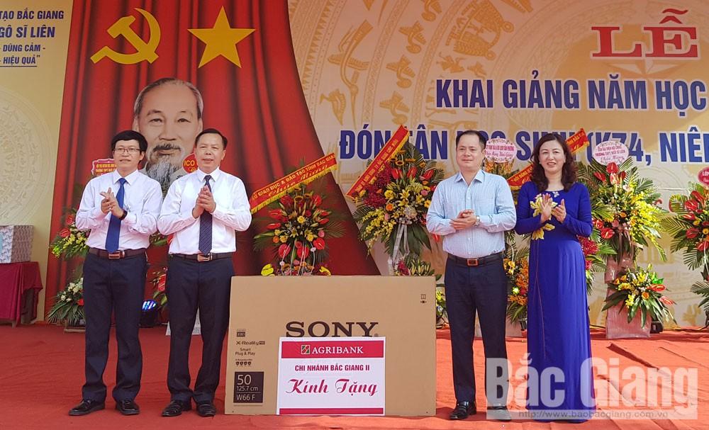 Phó Thủ tướng Chính phủ Phạm Bình Minh, Bí thư Tỉnh ủy, khai giảng, năm học mới