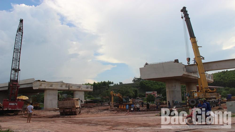 Cao tốc, Bắc Giang, Lạng Sơn, hoàn thành, 95% khối lượng