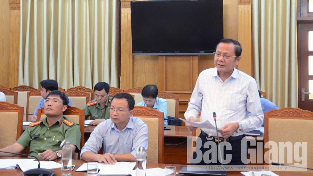 Liên hoan Chèo, toàn quốc, Bắc Giang, công tác chuẩn bị