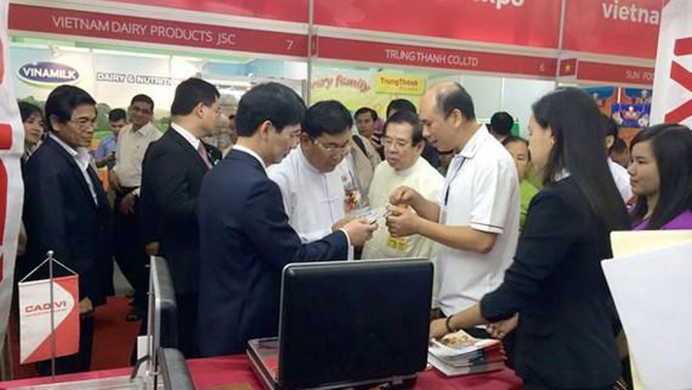 Biggest Vietnamese trade fair, Myanmar, Vietnamese goods fair,  Vietnam Trade Promotion Agency, medical and chemical products,  country's distribution network