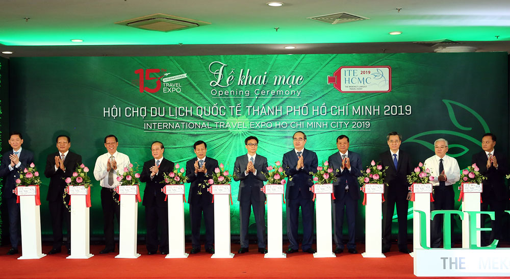 Ho Chi Minh City, International Travel Expo, three-day expo, tourism products,  annual tourism event,  tourism start-ups