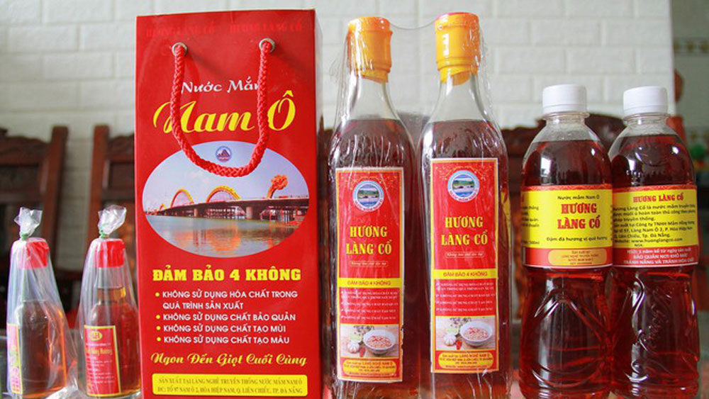 Nam O fish sauce, national cultural heritage, traditional craft, local cultural identity, cultural diversity, human creativity,  ecotourism project