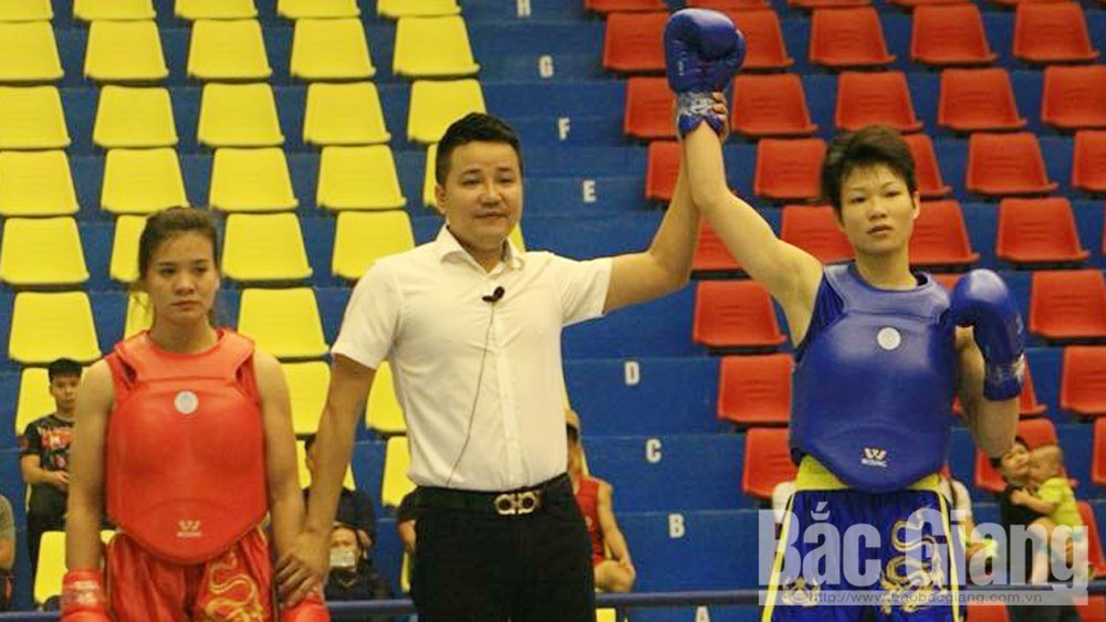 Wushu artist Nguyen Thi Thu Thuy strives for international level