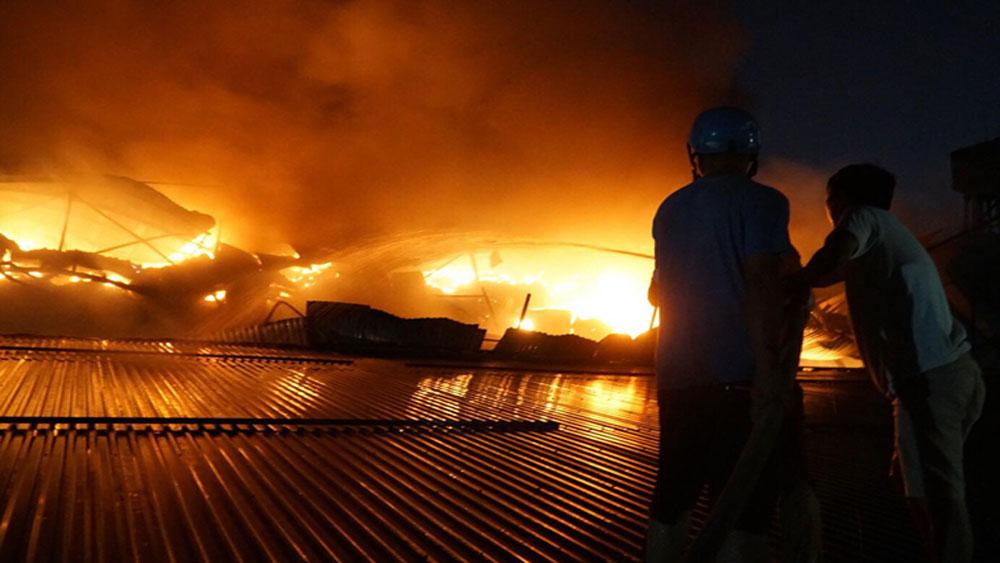 Công ty Rạng Đông, gửi thư xin lỗi, sự cố hỏa hoạn