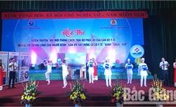 Cán bộ ngành y tế Bắc Giang thi phong cách, thái độ phục vụ hướng tới sự hài lòng của người bệnh