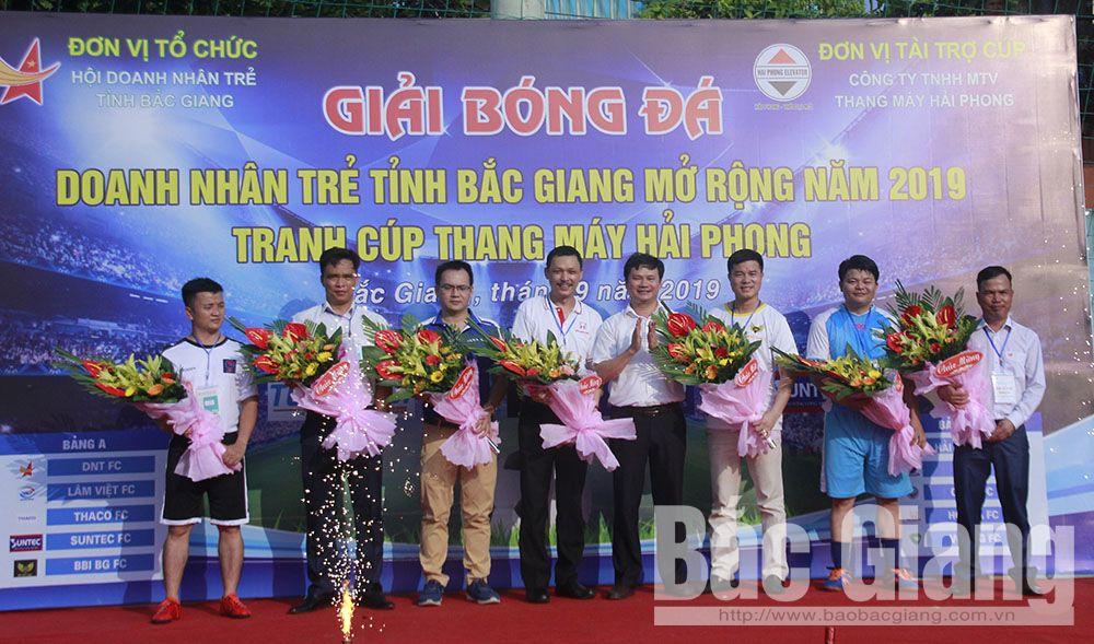 Bắc Giang, Doanh nhân trẻ tỉnh Bắc Giang, hoạt động chào mừng Đại hội hội liên hiệp thanh niên tỉnh