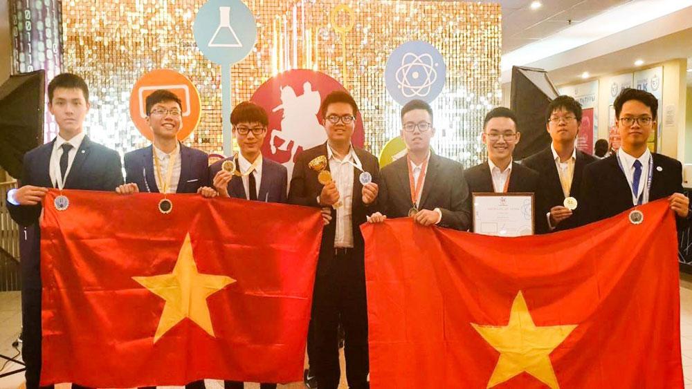 Việt Nam, đạt thành tích ấn tượng, Cuộc thi Olympic Quốc tế Moscow lần thứ IV - 2019