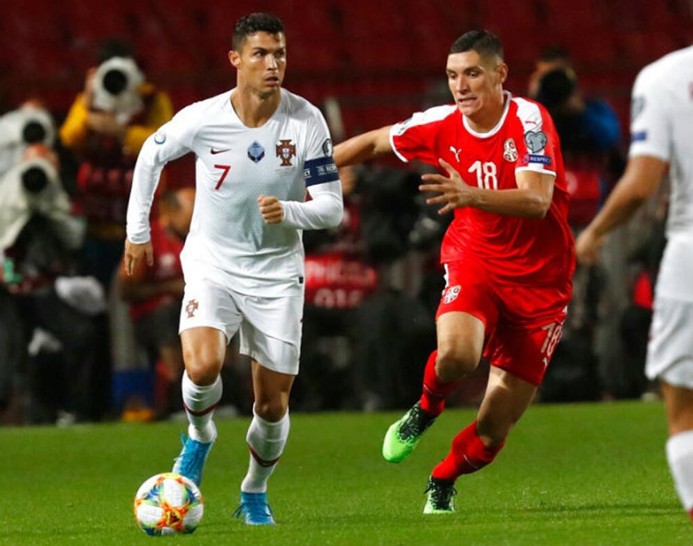 Ronaldo ghi bàn, Serbia 2-4 Bồ Đào Nha, clip Ronaldo ghi bàn, clip Serbia 2-4 Bồ Đào Nha, vòng loại EURO 2020