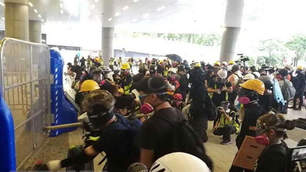 Chính quyền Hong Kong, không có người biểu tình tử vong, 3 tháng qua