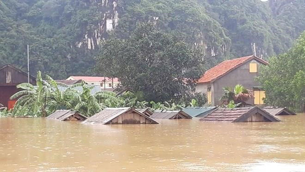 PM, rice aid, flood-hit residents, national reserve, serious flooding, flood relief work,  human lives and property