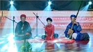 """Em Lê Nhật Mai (10 tuổi) biểu diễn bài ca trù """"Hiền tài là nguyên khí quốc gia"""""""