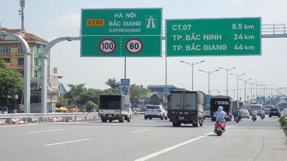 Bác đề xuất, cấm xe máy lưu thông, đường Hà Nội-Bắc Giang