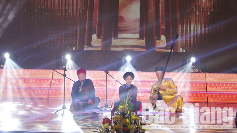 Bac Giang province, 10 years, world's recognition, folk arts, Quan ho folk song, intangible cultural heritage of humanity, ca tru